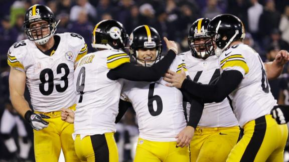 Rapid Reaction: Steelers 23, Ravens 20