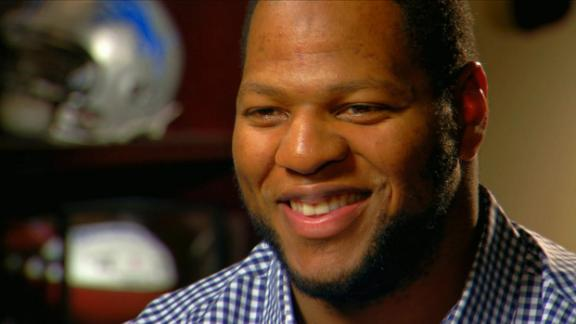 Ndamukong Suh sits down with Merril Hoge