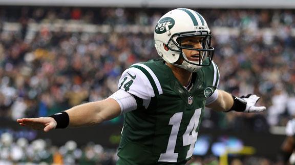 McElroy replaces Sanchez, lifts Jets past Cards