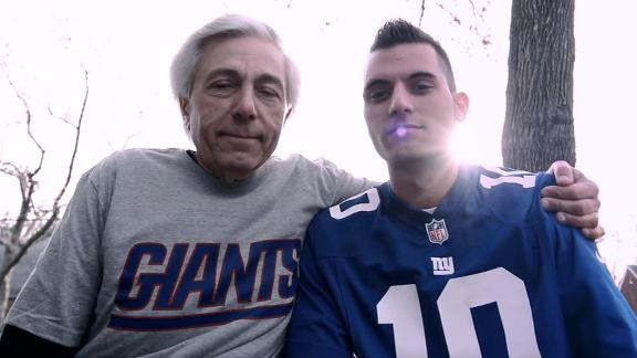 Video - Giants Fan Survives Hurricane Sandy