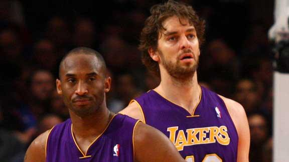 "Video - Kobe Tells Gasol To ""Put Your Big-Boy Pants On"""