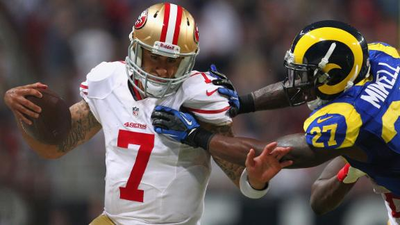 Harbaugh: Kaepernick still Niners' starting QB