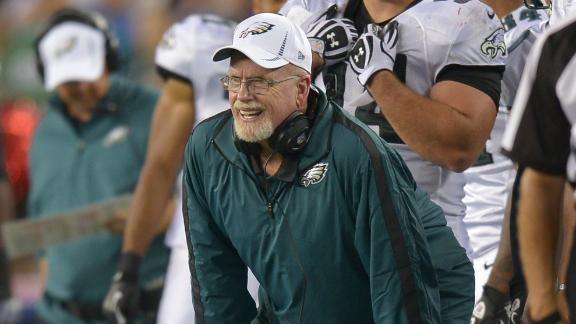 Eagles fire D-line coach amid eight-game skid