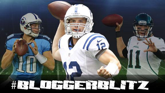 Blogger Blitz: Our young QBs