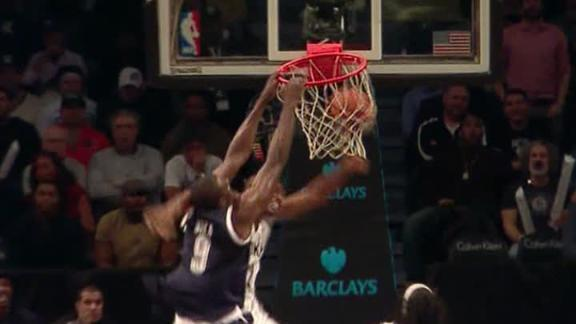 Video - Serge Ibaka Posterizes Jerry Stackhouse