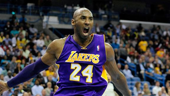 Kobe becomes NBA's youngest to 30,000 points
