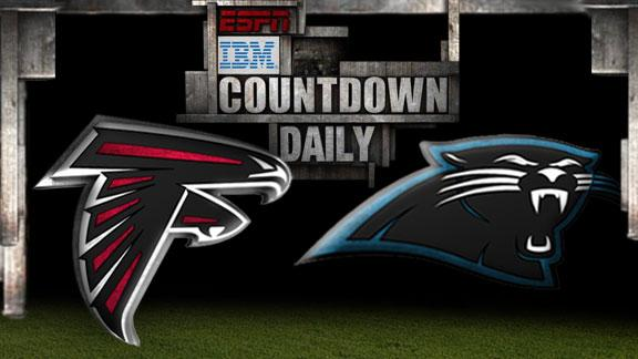 Countdown Daily: Falcons-Panthers