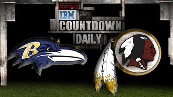 Video - Countdown Daily Prediction: Ravens-Redskins