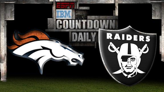 Video - Countdown Daily Prediction: Broncos-Raiders
