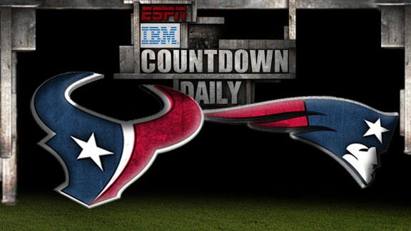 Video - Countdown Daily Prediction: Texans-Patriots