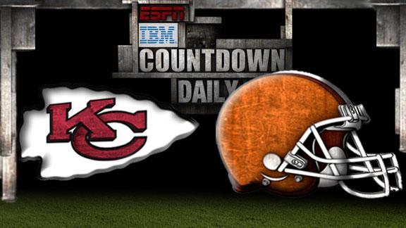 Video - Countdown Daily Prediction: Chiefs-Browns