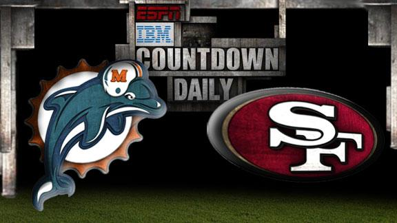 Video - Countdown Daily Prediction: Dolphins-49ers