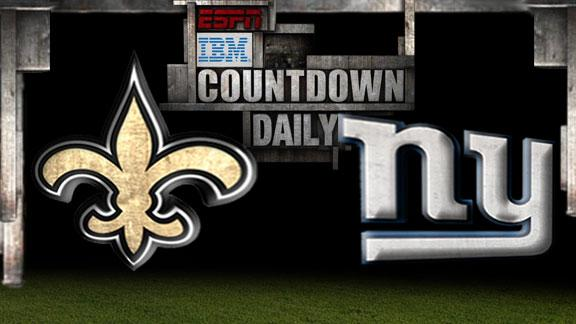 Countdown Daily: Saints-Giants