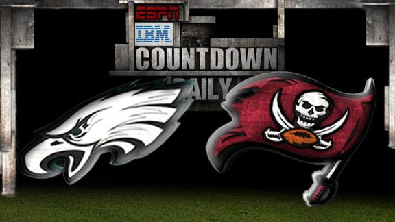 Countdown Daily: Eagles-Buccaneers