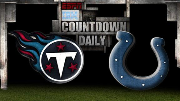 Video - Countdown Daily Prediction: Titans-Colts