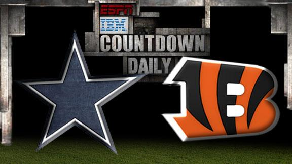 Video - Countdown Daily Prediction: Cowboys-Bengals