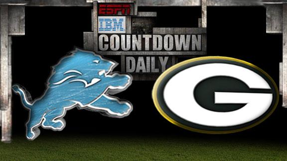 Video - Countdown Daily Prediction: Lions-Packers