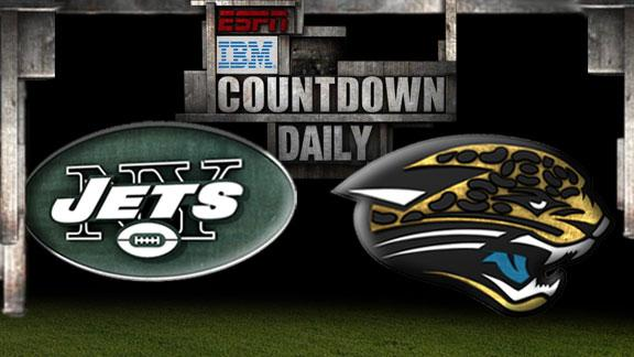 Video - Countdown Daily Prediction: Jets-Jaguars
