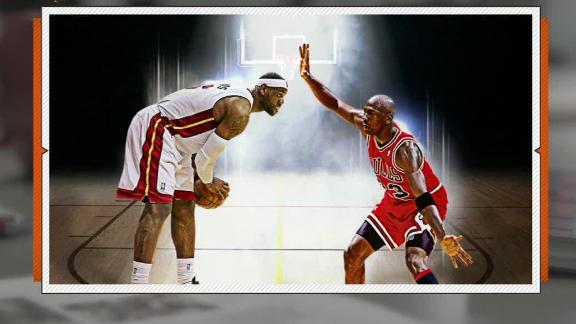 Video - LeBron One-On-One With Jordan?