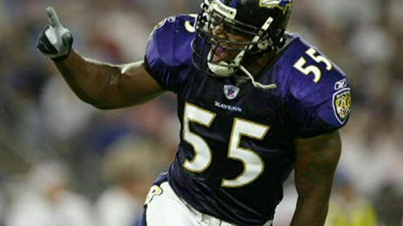 Video - Terrell Suggs Practices