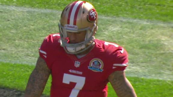 Gore, Kaepernick run in TDs as Niners prevail