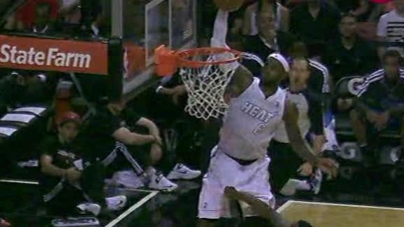 Video - LeBron James Lift Off