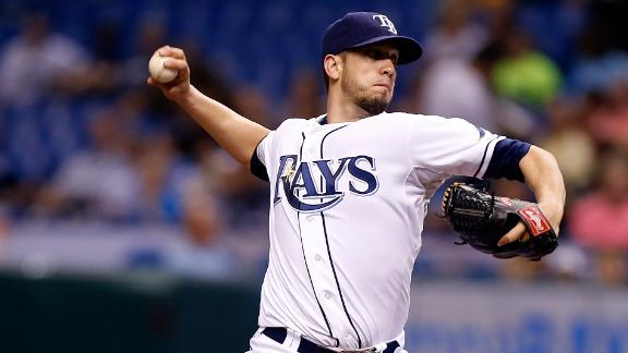Sources: Rays trade Ps Shields, Davis to Royals