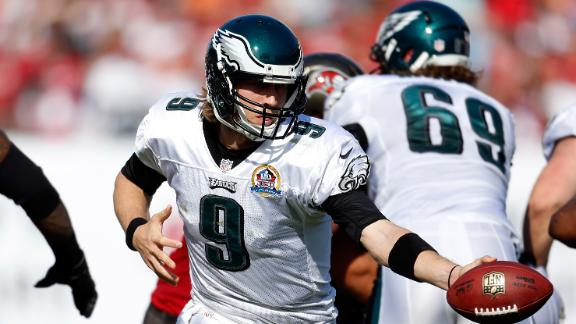 Video - Eagles Snap Eight-Game Losing Streak