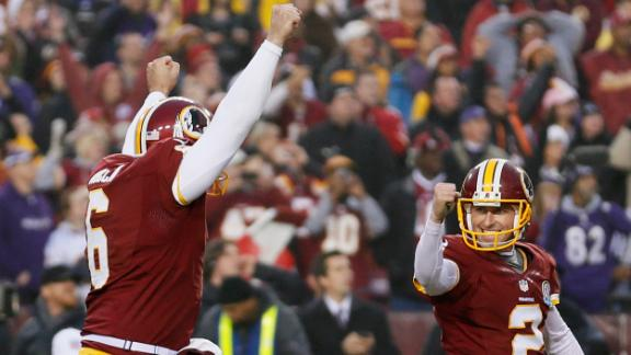 Rapid Reaction: Redskins 31, Ravens 28