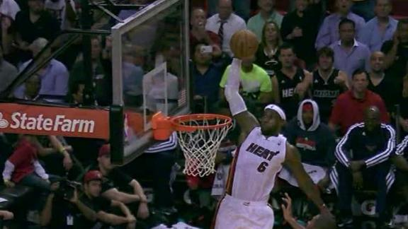 Video - Heat Fly By Hawks, 101-92