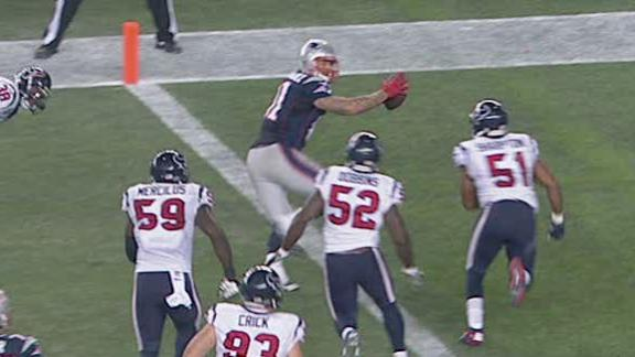 Video - Patriots Lead Texans At The Half