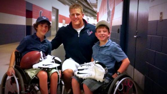 Video - J.J. Watt's Remarkable Friendship