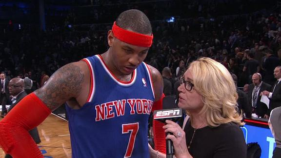 Video - Carmelo Focused