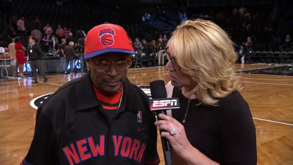 Video - Spike Lee On Knicks-Nets Rivalry