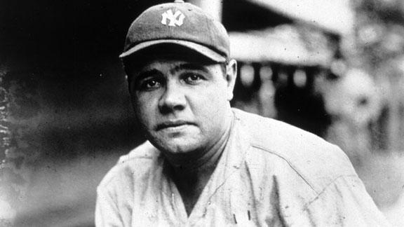 dm 121211 mlb hall of 100 babe ruth On this Date: Babe Ruth makes his debut in the MLB in 1914