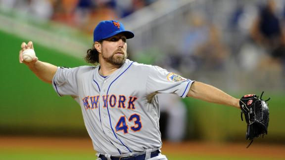 Video - R.A. Dickey Addresses Future With Mets