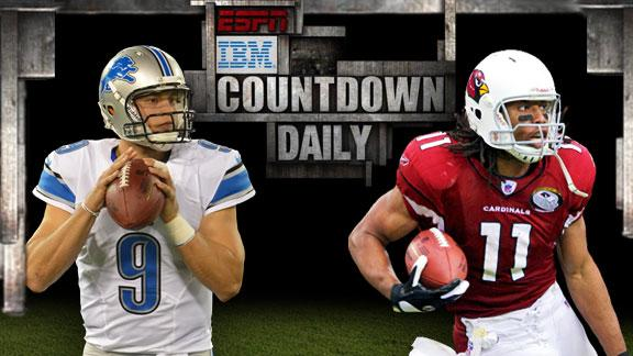 Video - Countdown Daily AccuScore: DET-ARI
