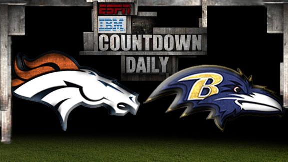 Video - Countdown Daily Prediction: Broncos-Ravens