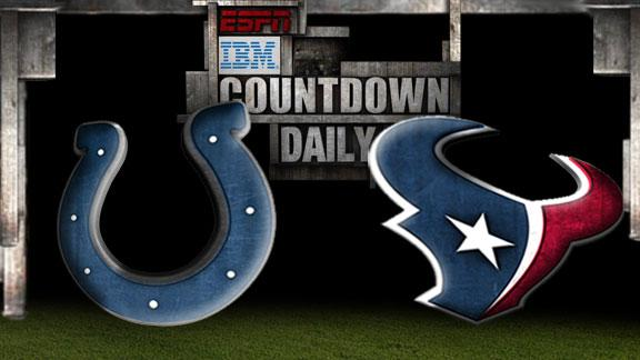 Video - Countdown Daily Prediction: Colts-Texans