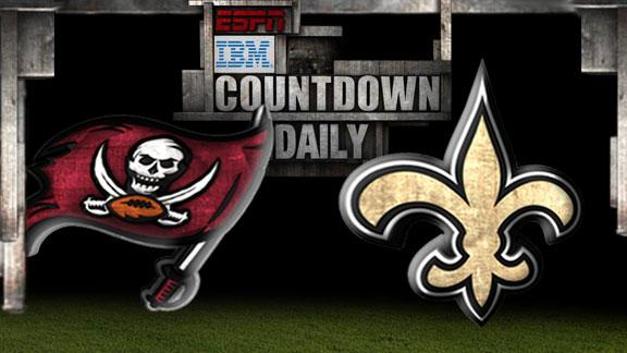 Video - Countdown Daily Prediction: Buccaneers-Saints
