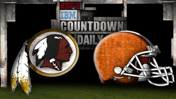 Video - Countdown Daily Prediction: Redskins-Browns