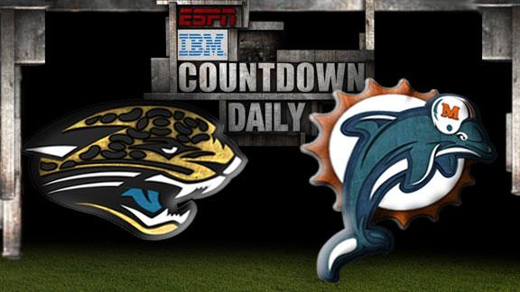 Video - Countdown Daily Prediction: Jaguars-Dolphins