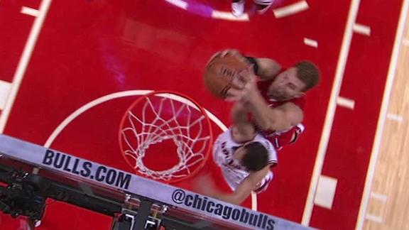 Video - Blake Griffin Dunks On Marco Belinelli