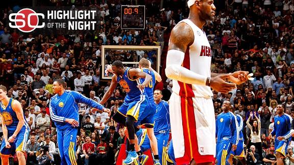 Video - Warriors Stun Heat