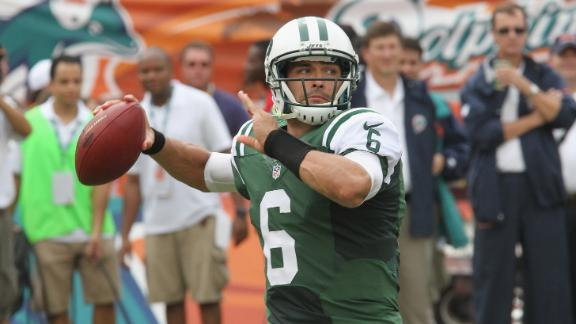 Video - Jets Face Off Against Titans
