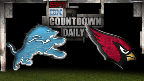 Video - Countdown Daily Prediction: Lions-Cardinals