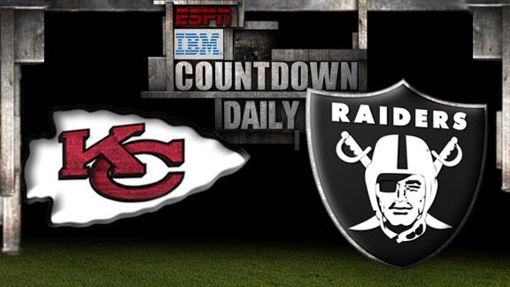 Video - Countdown Daily Prediction: Chiefs-Raiders