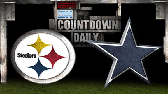 Video - Countdown Daily Prediction: Steelers-Cowboys