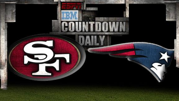 Video - Countdown Daily Prediction: 49ers-Patriots
