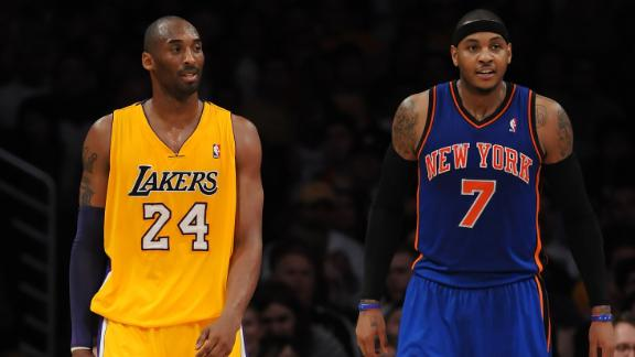 Video - Kobe: Carmelo Harder To Guard Than LeBron